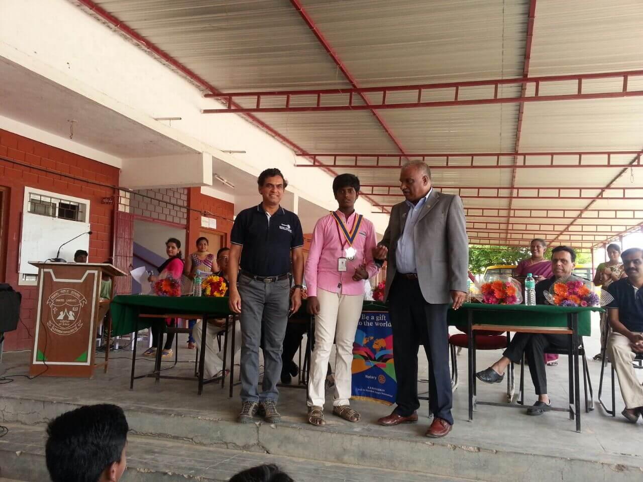 Formation of Interact club at Samuel Public School