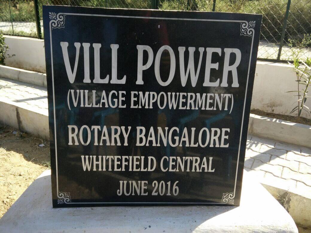 RBWC MBRDI Villpower Project