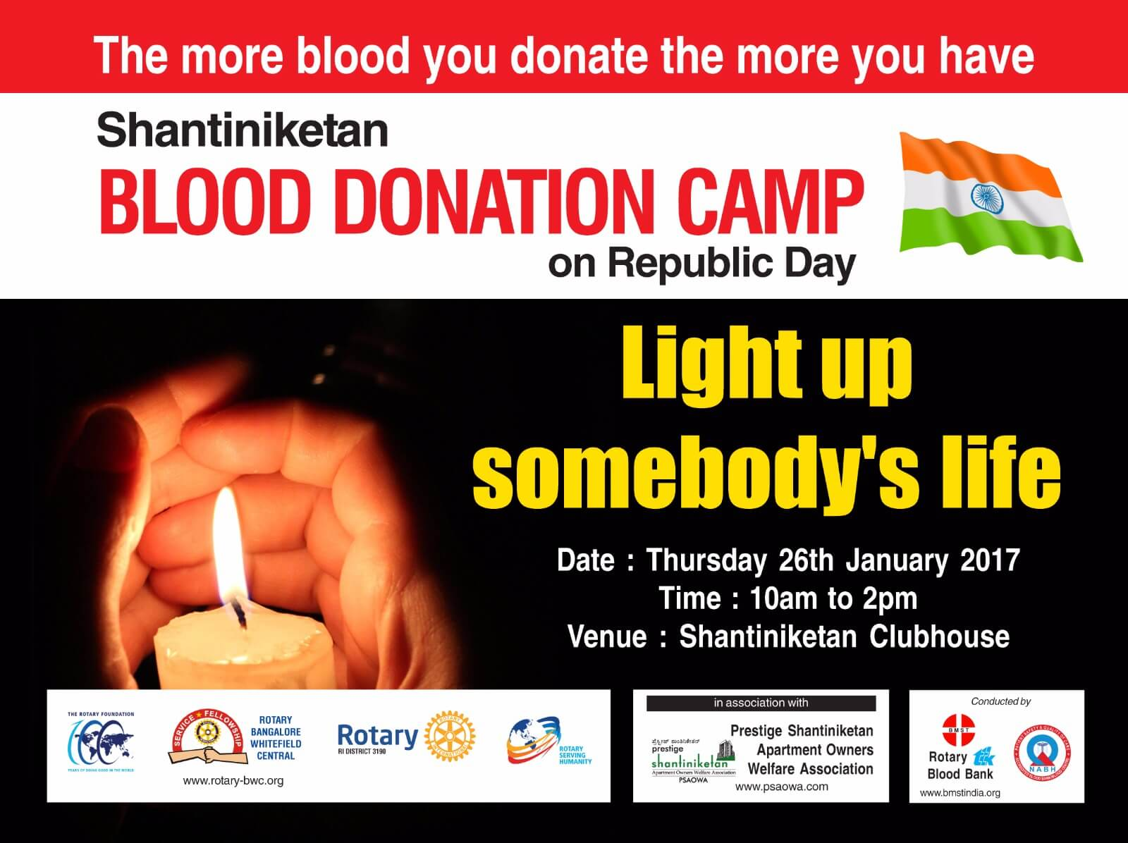 Blood Donation Camp – Shantiniketan – Update