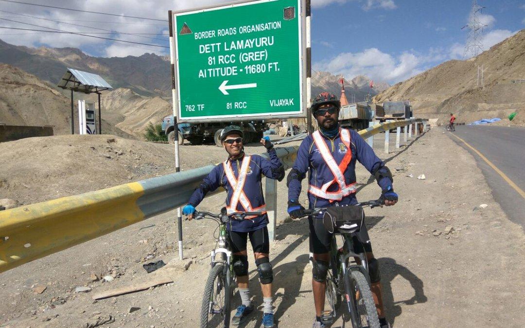 Leh-Ladakh cycling expedition
