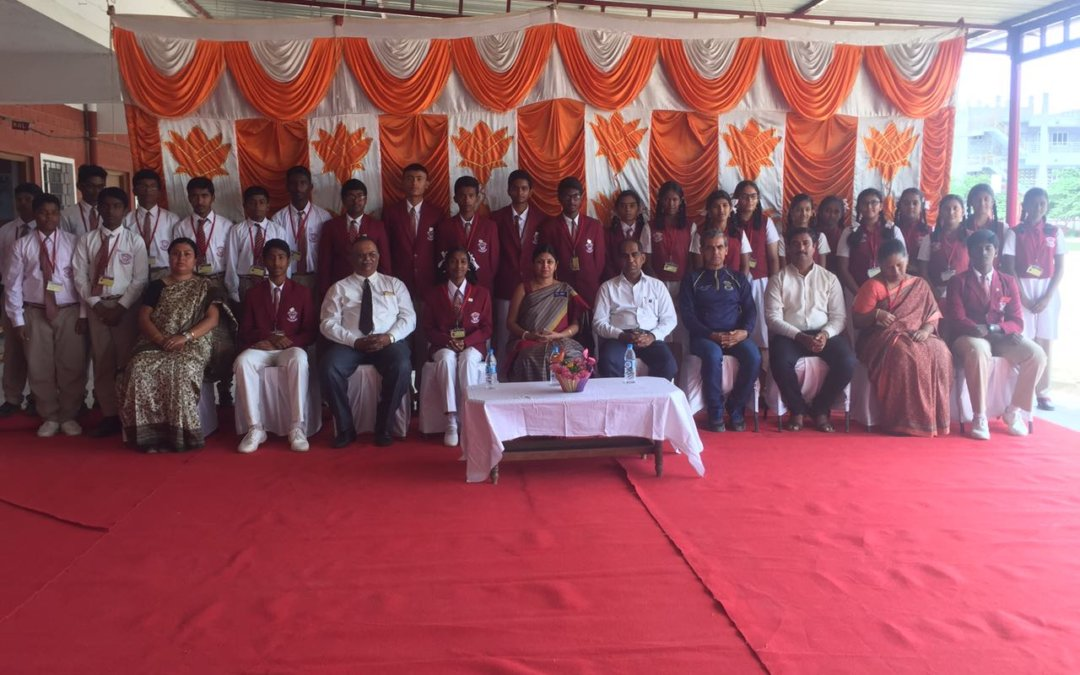 Interact Club installation – Samuel Public School