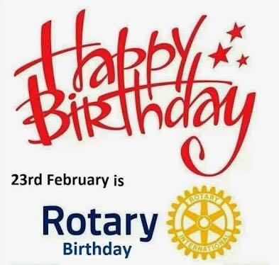 Rotary Birthday Celebrations