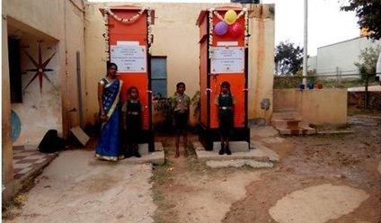 Inauguration of E-Toilet