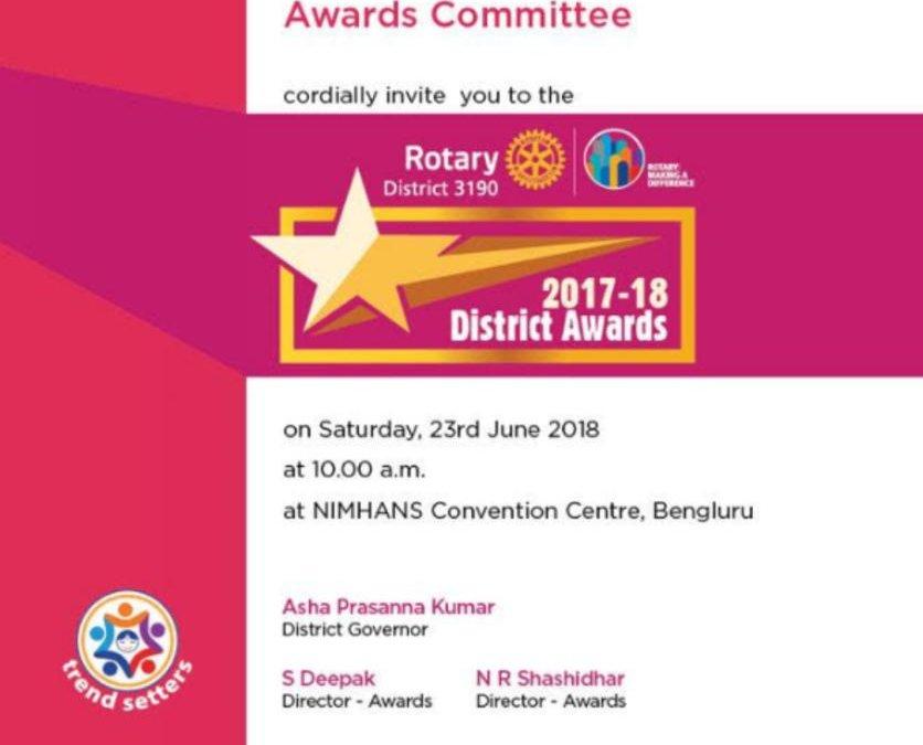 RBWC awarded