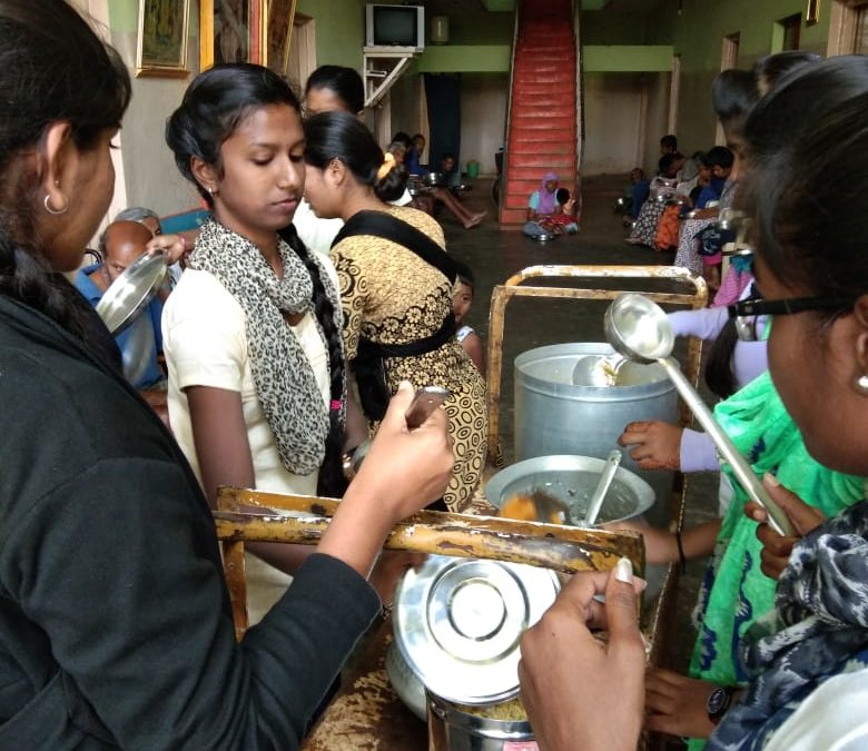 Meal for Old Age Home