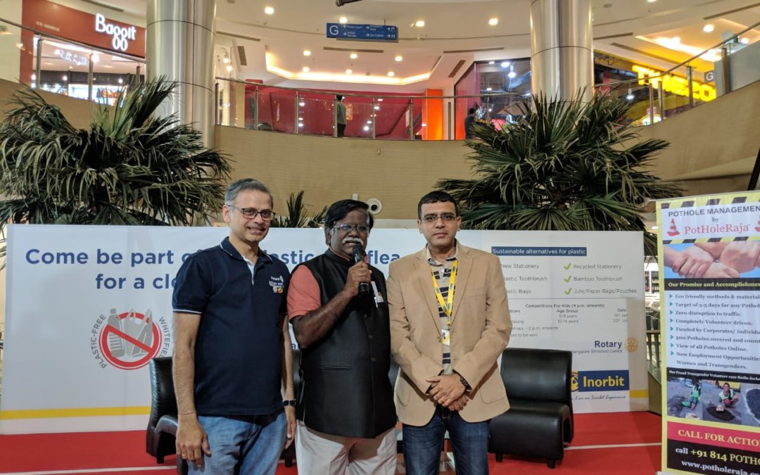 Plastic free and Swachh Whitefield – RBWC & InOrbit Project