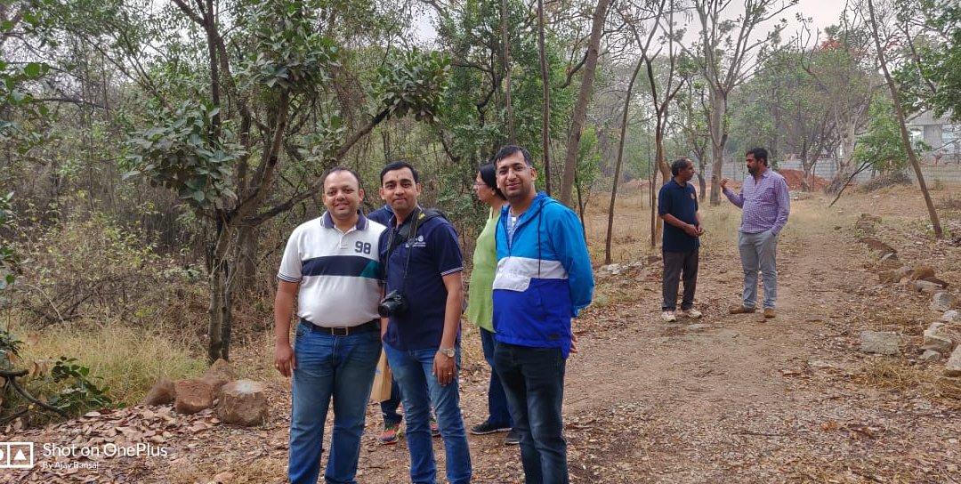 Visit to Bio-Diversity Park