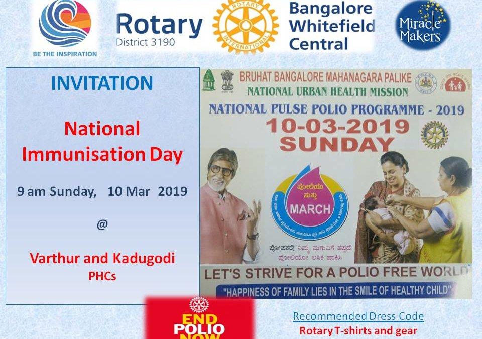 National Immunization day