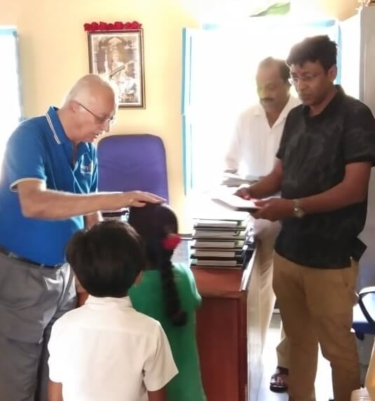 Notebook Distribution in Government Schools