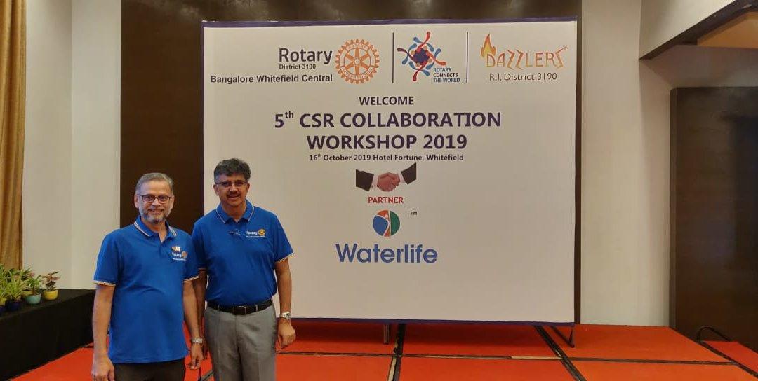 CSR Collaboration Workshop – 2019
