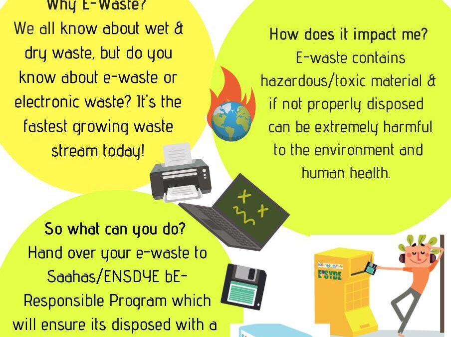 Month-long e-waste collection drive