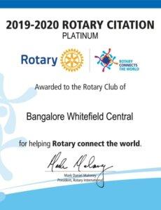 Rotary Citation-19-20